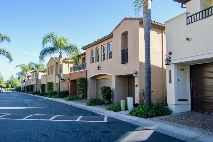 Classy white home with street view  Bungalows at Escala, Mission Valley CA