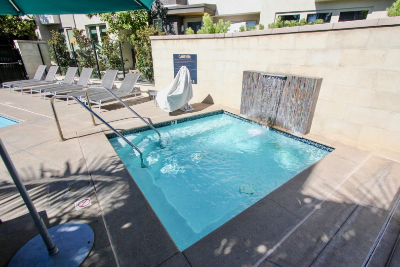 Relax in the Jacuzzi at Frame and Focus in Mission Valley, California