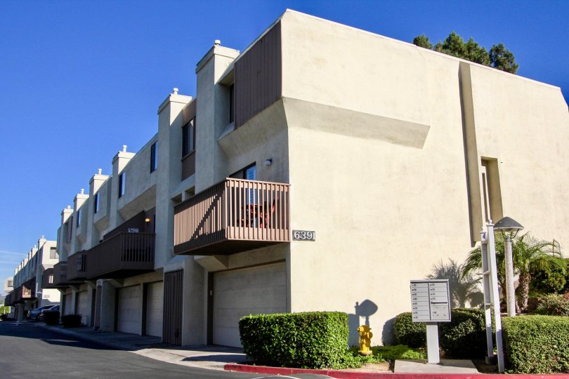Friars Mission Apartment Buildings In Mission Valley California During A sunny Clear sky day
