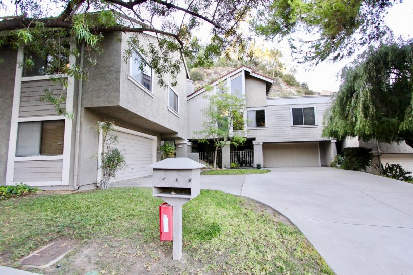Two story apartments in Kensington Park Villas in Mission Valley California