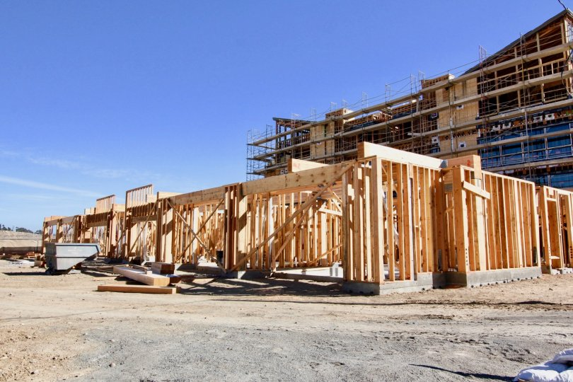 Lucent Lofts  , Mission Valley , California,blue sky,construction