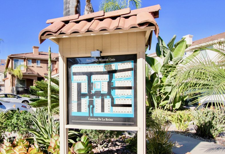 San Diego Mission Guide Visitor Map Mission Valley, California