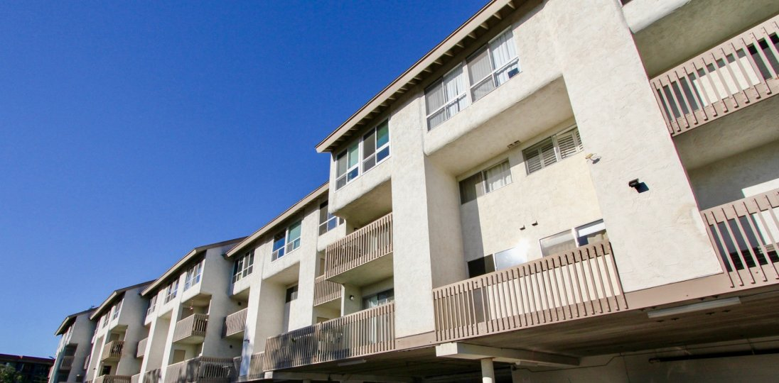 Mission Heights in mission valley long and beautiful building with balcony comfortable staying place peaceful area