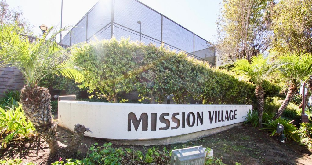 Greenery and a love for nature are quintessential attributes at Mission Village, in California's Mission Valley