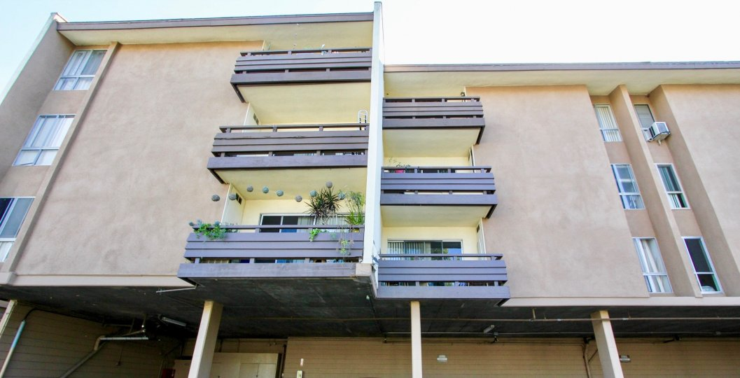 Mission Village , Mission Valley , California,beige building,balcony