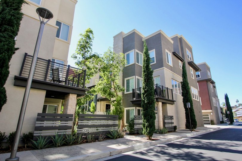 Three story Skyloft at Origen in Mission Valley California