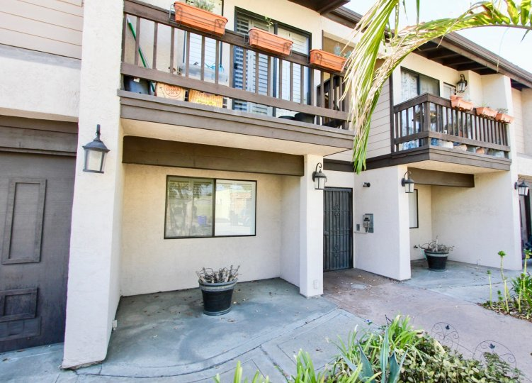 Nice townhomes, gated security entrances, good sized balconies, patio spaces, well lighted, composite exterior