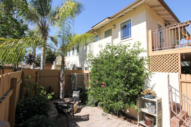 Beautiful condo Fully Gated Community with a beautiful balcony and carport