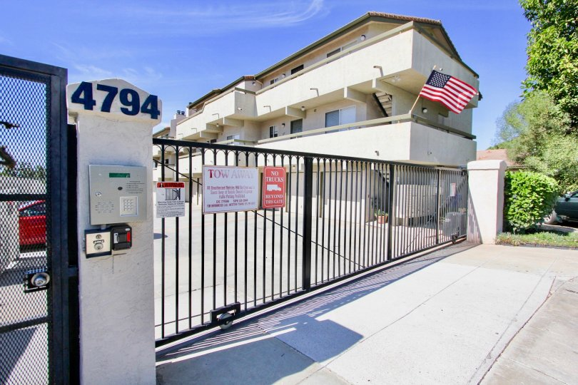 Beautiful condo Fully Gated Community with a beautiful balcony and garage