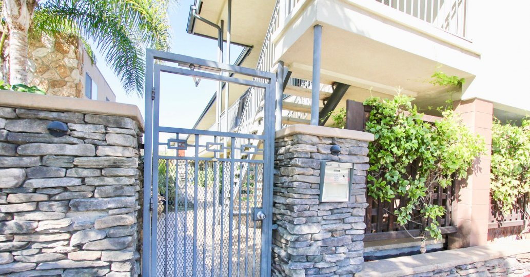 Secure living at West Mountain View Condos in Normal Heights, California.