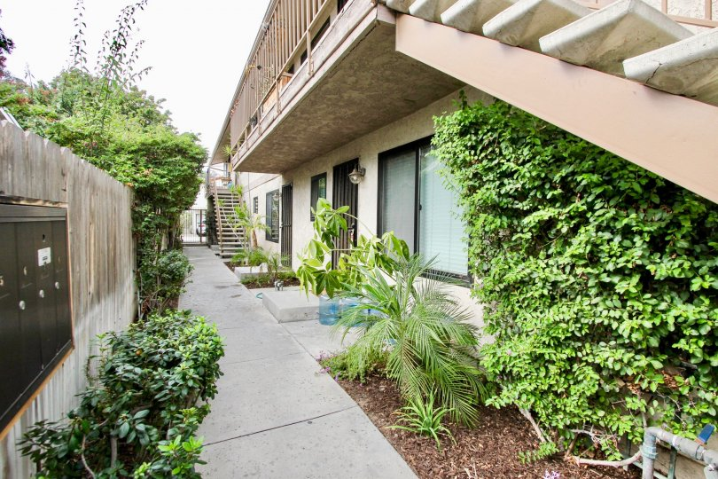 A downstairs view of the apartment at 3766 31st St apartment in North Park, California.