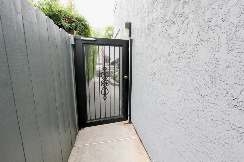 Back exit at 3788 Grim Ave, North Park, California