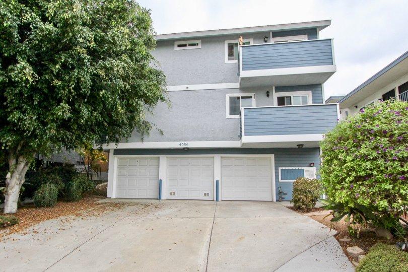 4034 Florida St , North Park , California,grey building,tree