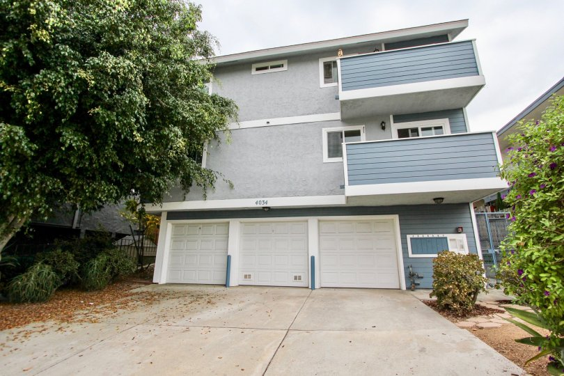 4034 Florida St, North Park, CA. Three story view of