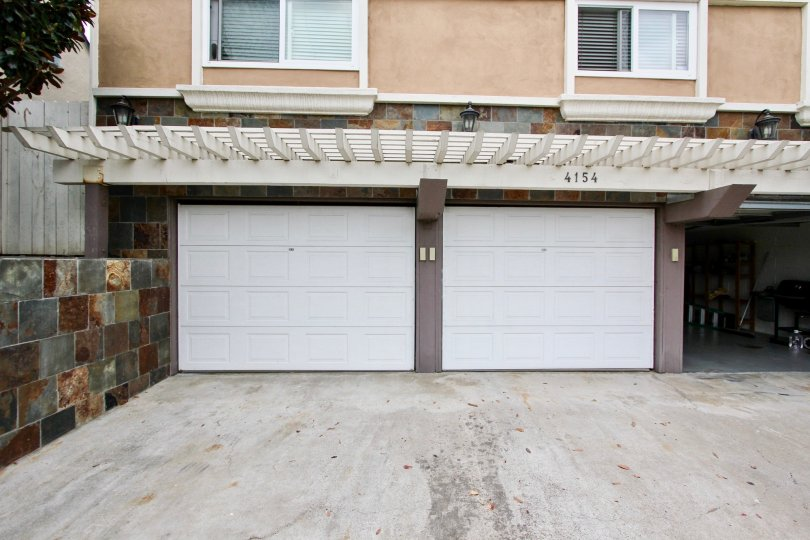 Housing with attached garages and driveway at 4154 Louisiana St in North Park California
