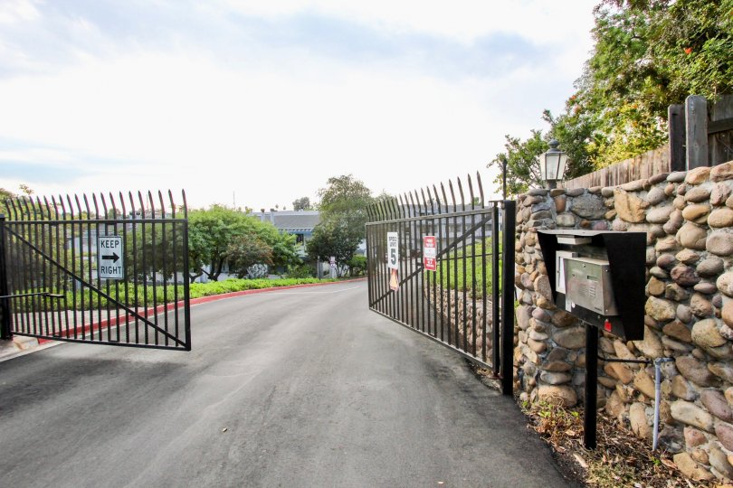 Cherokee Canyon is a gated community that can only be accessed with card or code