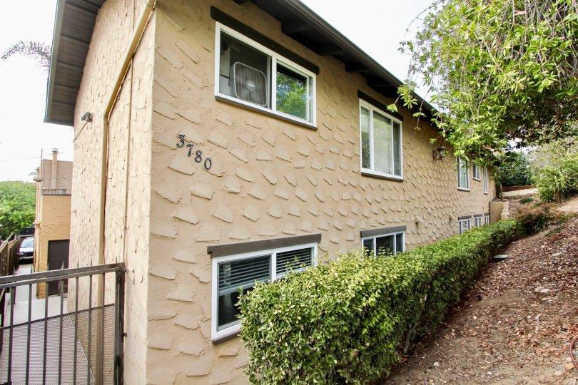 Apartment complex, Las Casitas, in North Park, California