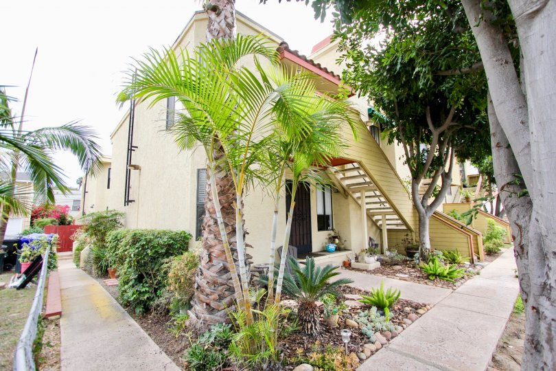 Clean, well landscaped units in North Park River Oaks, North Park, California