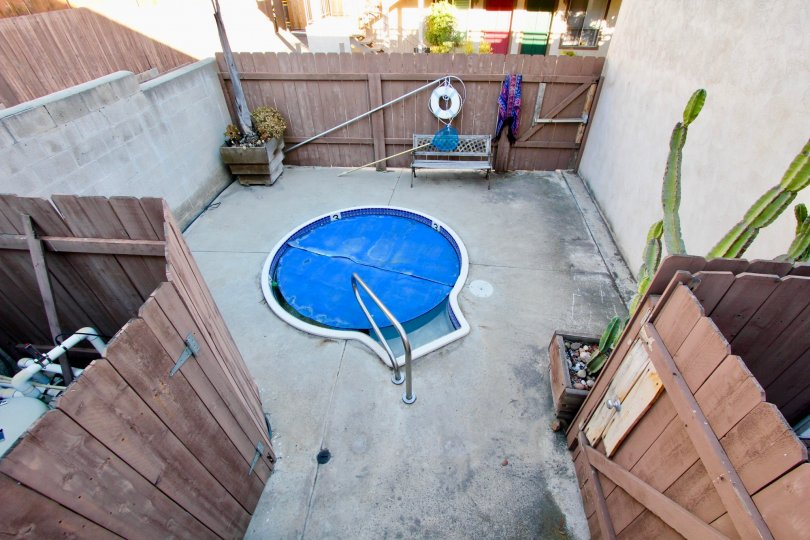 Nice Fenced in Jacuzzi Located on Robinson Street, North Park, CA