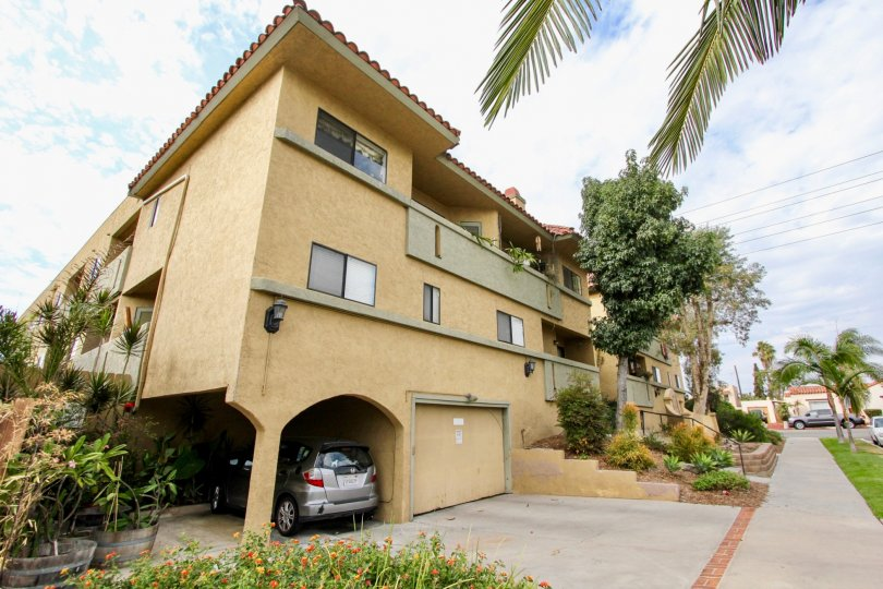 Spanish Oaks II in North Park, California has both garage and carport options for tenants vehicles.