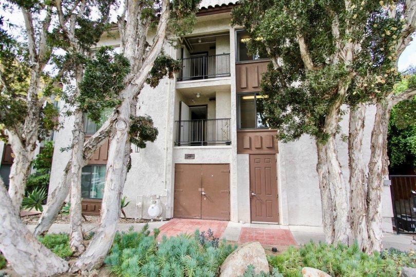 Apartment complex in Villa Sao Miguel, North Park, California