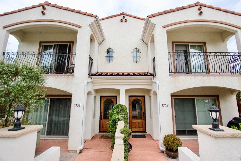A house Villas de Mediterraneo giving the feeling of dashing personality.