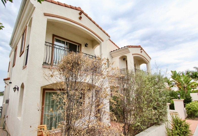 Villas de Mediterraneo,: North Park  .California,beige building