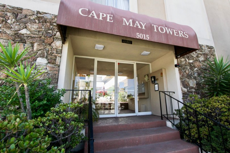 the cape may towers building located in Ocean Beach CA at address 5015.