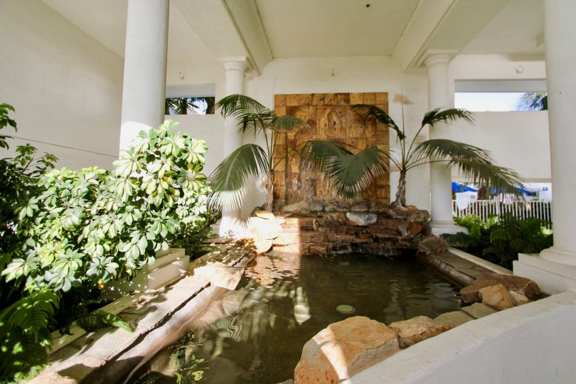 Enjoyable and soothing fountain to carry your worries away at Aegea in Oceanside, CA