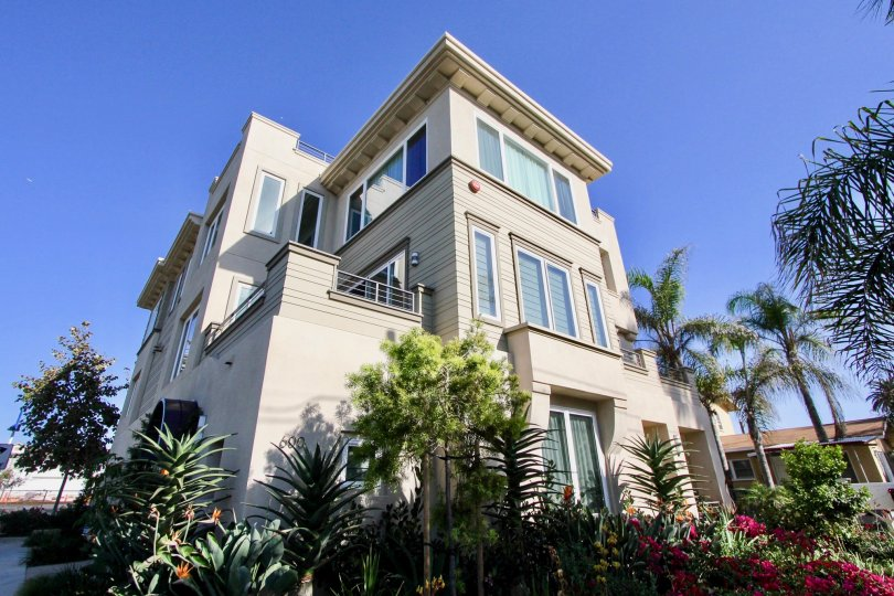 Professionally landscaped and a three level view is yours at Azure Del Mar in Oceanside, CA