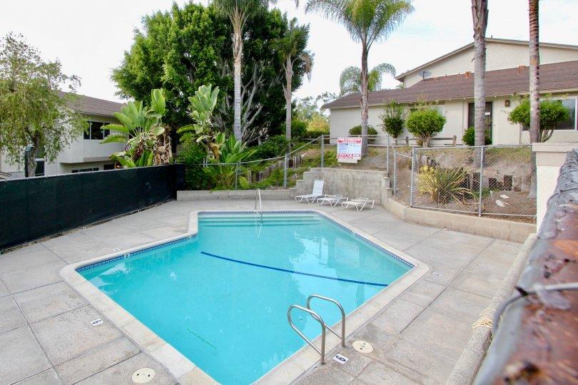 Bay Shore Swimming Pool Amenity at Oceanside, California