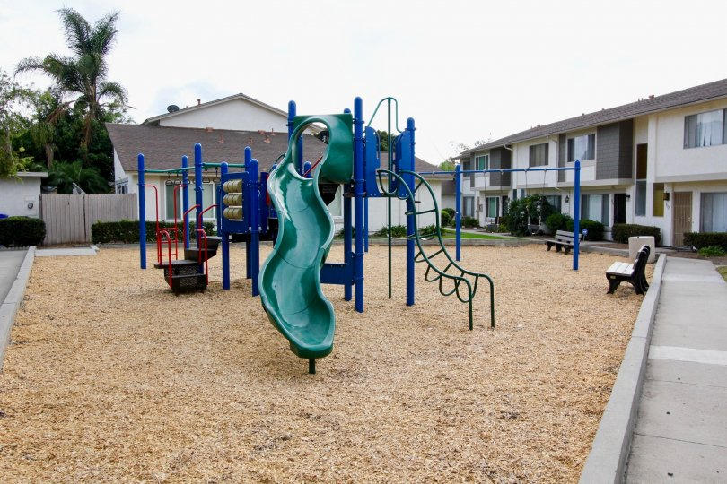 Bay Shores Playground for Kids, Oceanview, California