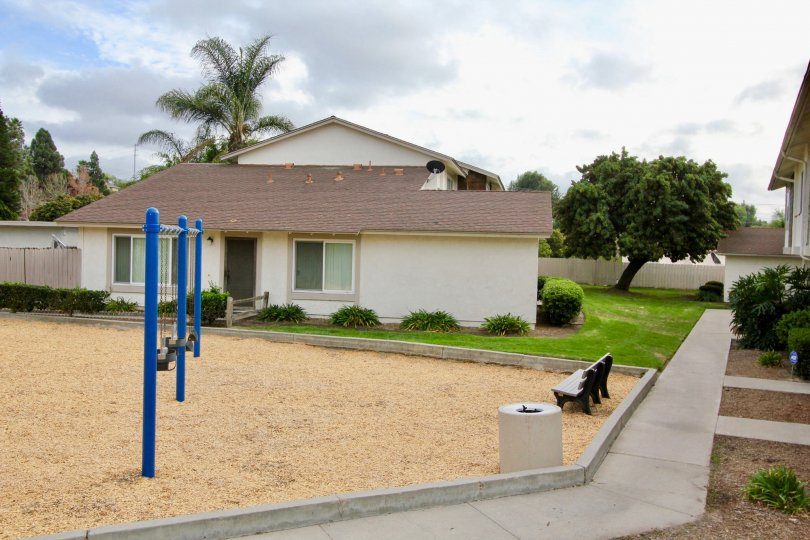 A great little investment complete with a playground at Bay Shores in Oceanside, CA