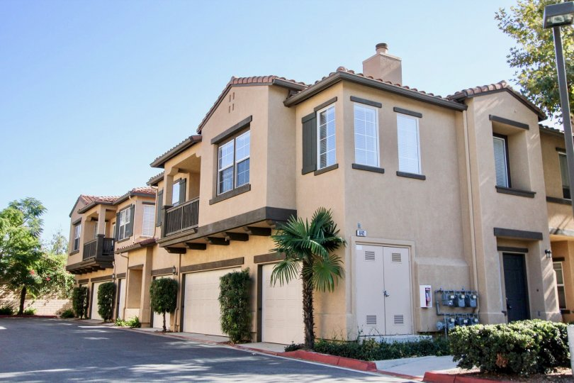 Brisbance Community and her Suburban Styled Apartments, Oceanside, California