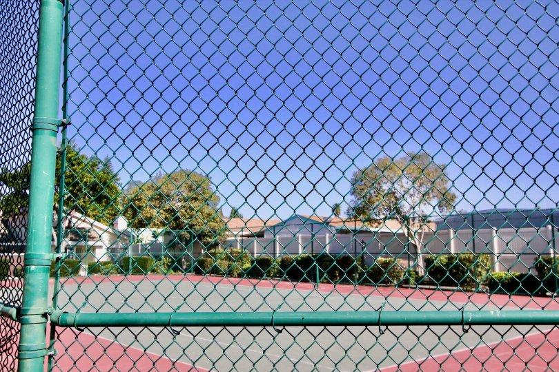 Carefree Village.: Oceanside. California, blue sky, playground