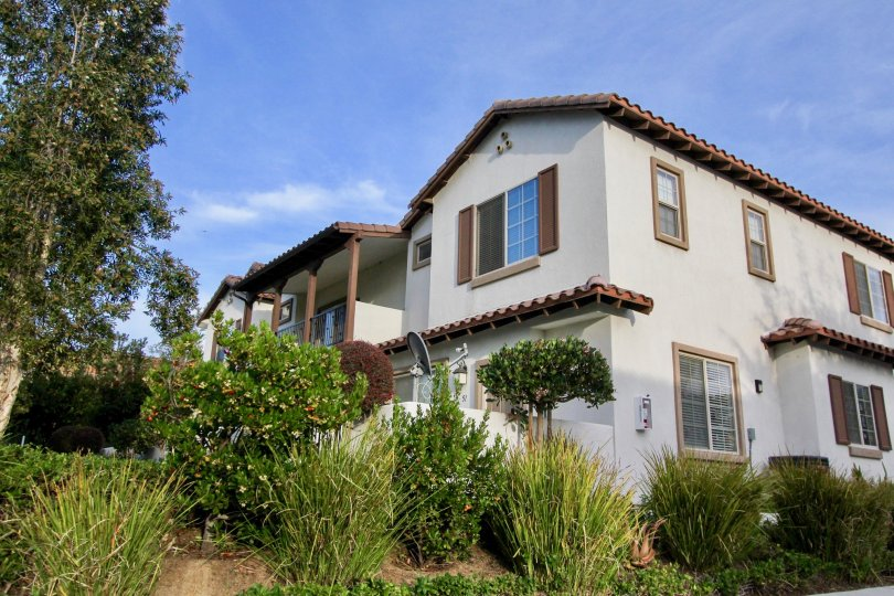 Apartments and Natural Sorroundings of Casitas at Spring Creek, Oceanside, California