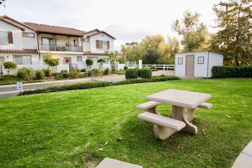 Beautiful Lawns and Nature of the Community Casista at Spring Creek, Oceanside, California