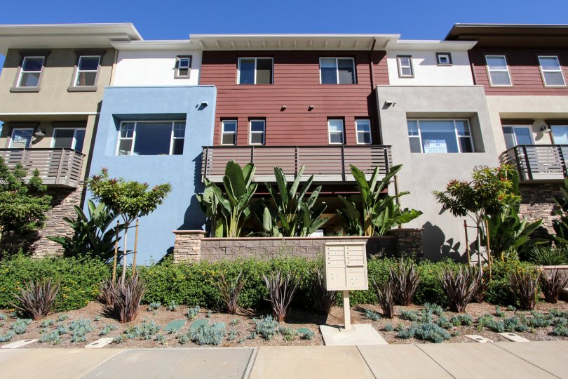 "ALT=""Cleveland Street 8 Townhomes at Oceanside in California"""