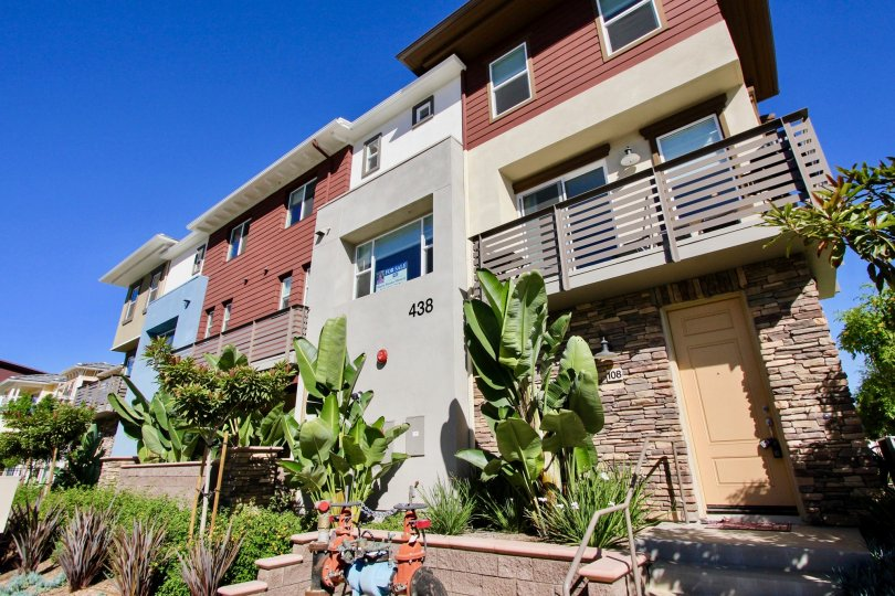 Modern Architectural Masterpiece of Cleveland street 8 Townhomes, Oceanside, California