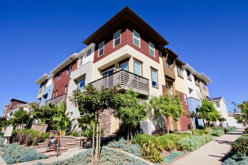 "ALT=""Cleveland Street 8 Townhomes Community at Oceanside in California"""