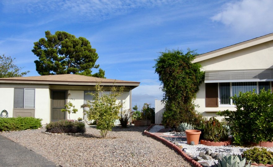The best rock garden in the neighborhood when you are living at Costa Serena in Oceanside, CA