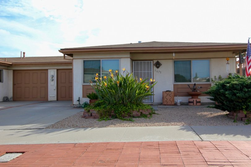 Costa Serena's Bungalows and buildings, Oceanside, California