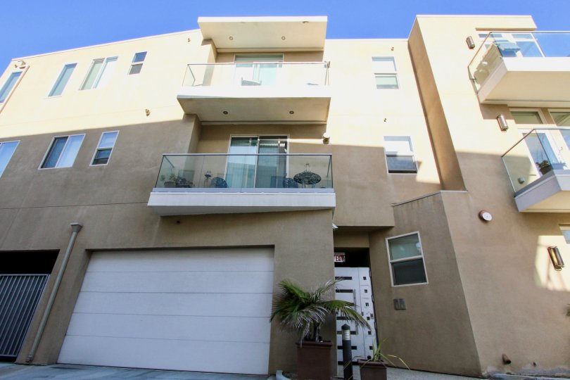 Personal parking and a sunny patio when you are living at Crystal Sands in Oceanside, CA