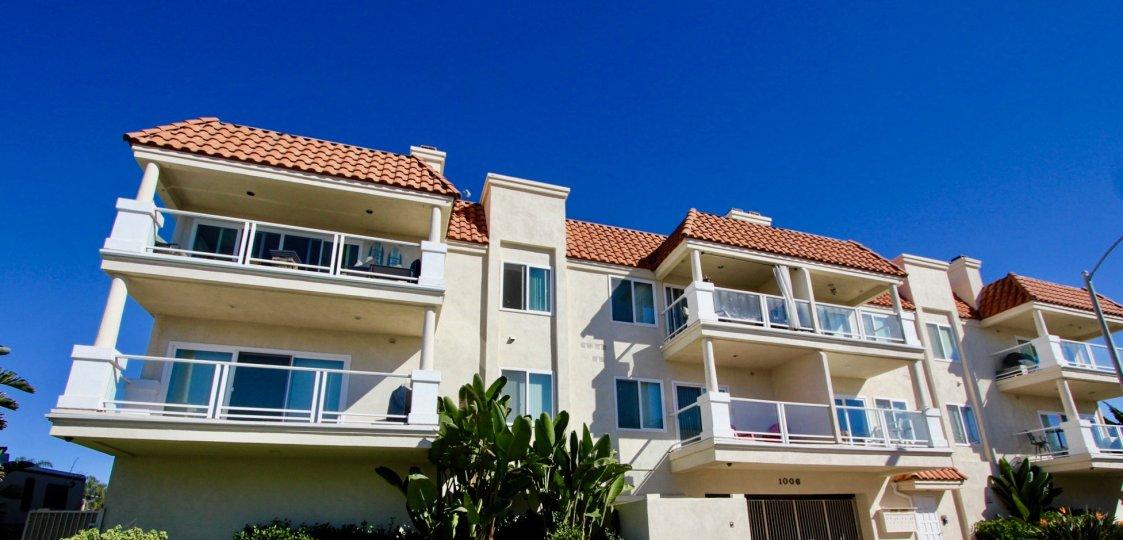 Denid Manor, Oceanside, California, blue sky, plants