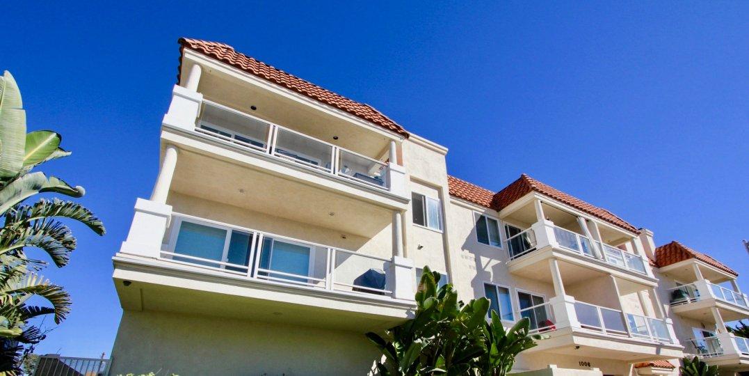 Frontal View of Denid Manor, Oceanside, California
