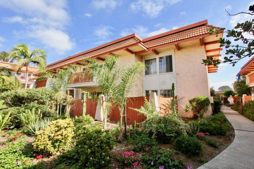 Apartment Complex, condos, oceanside, california, la montana, mediterranean style, landscaping