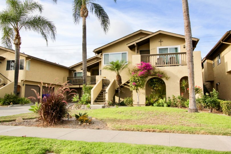 A clear California day in the Lake Village Community in beautiful Oceanside, California.