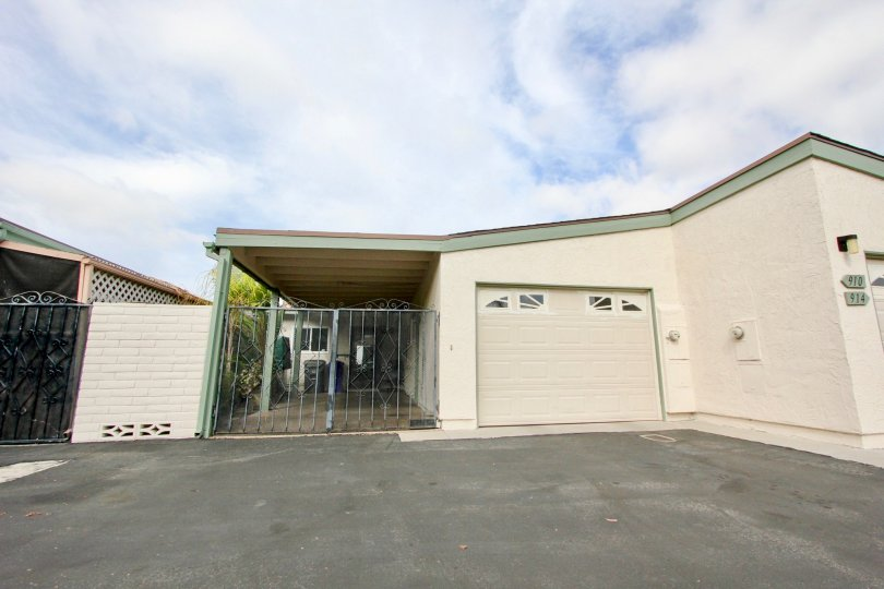 one story, one car garage beach home in Oceana Mission