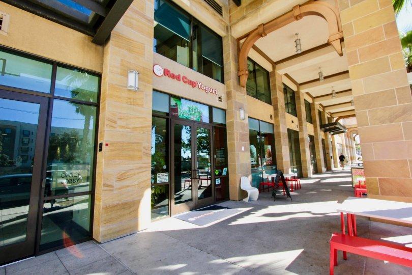 The food court in the Oceanside Terrace community in Oceanside CA
