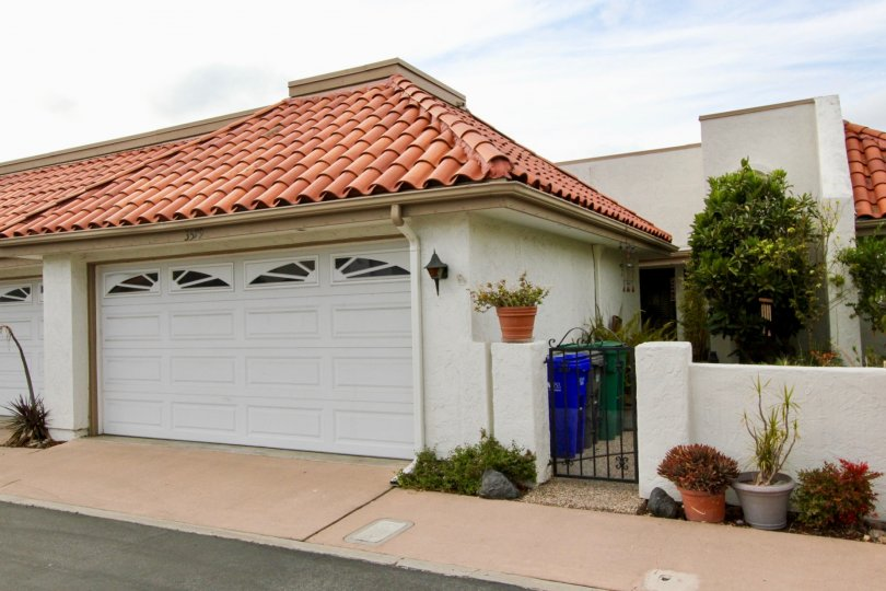 Pacifica in Oceanside, California, Driveway and front patio